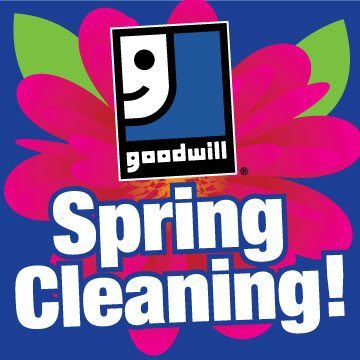 Spring cleaning logo