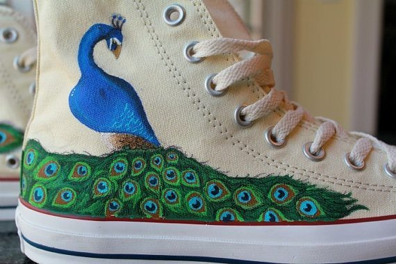 d4826f8d0856 Painted Converse sneakers by Rachel Bot on Etsy  http   www.etsy.com  listing 99813826 custom-painted-converse-sneakers-made-to