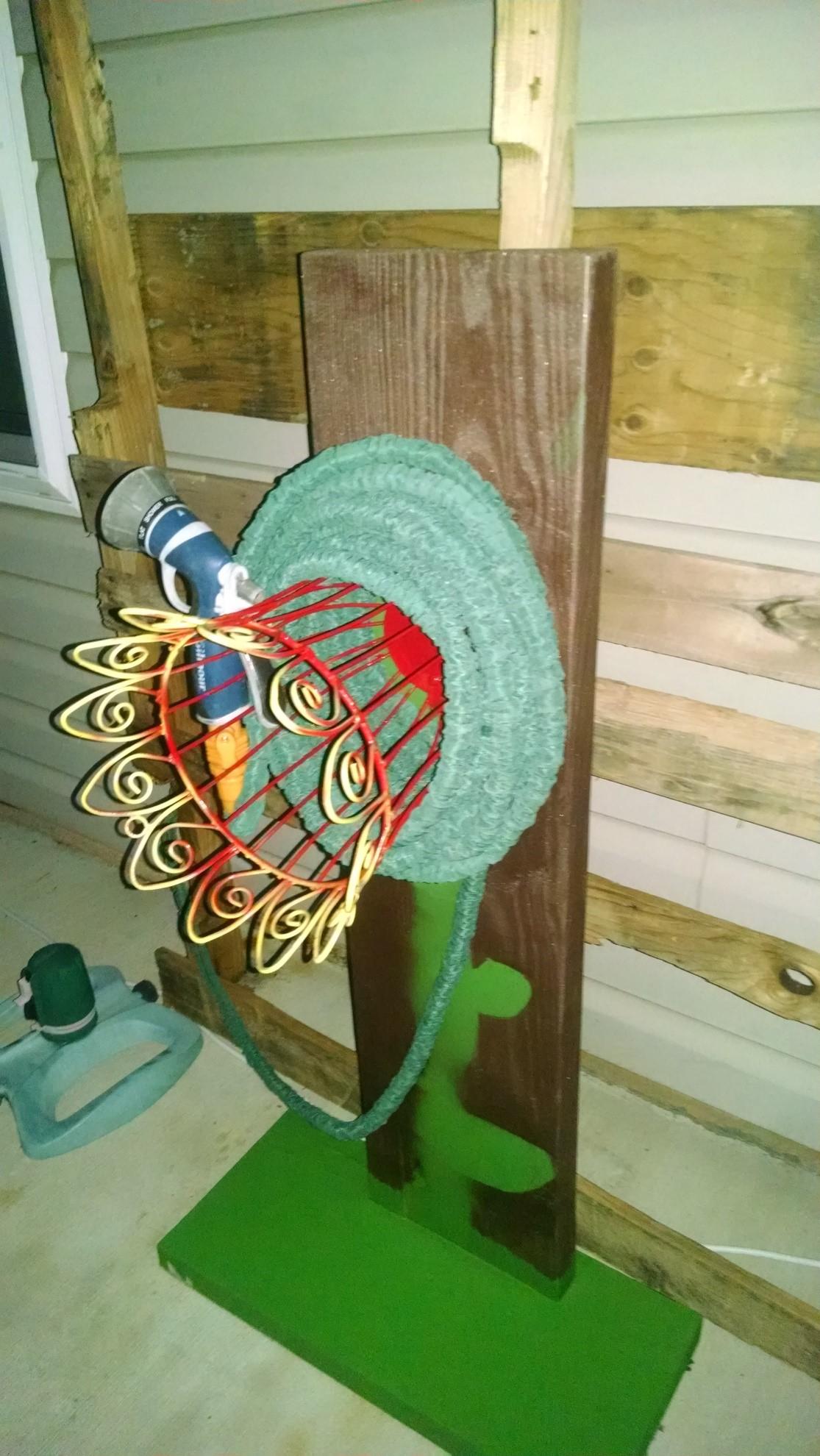 Garden Hose Hanger 8