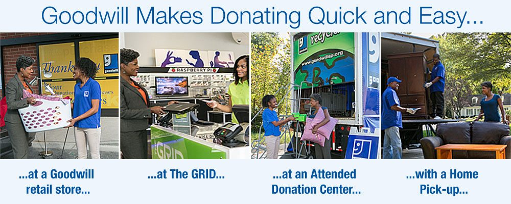Donate Goodwill Southern Piedmont