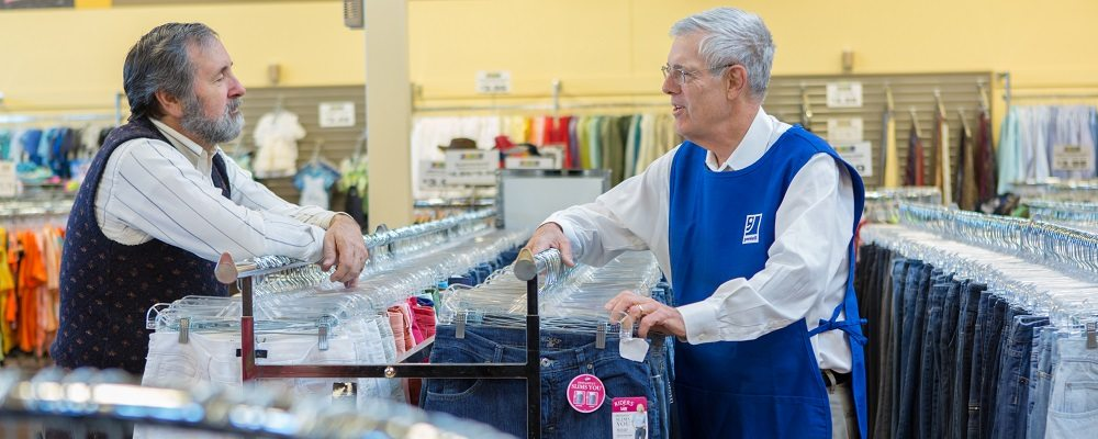 Goodwill offers regular discounts, promotions and sales