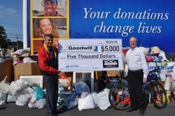 Goodwill Donation Check