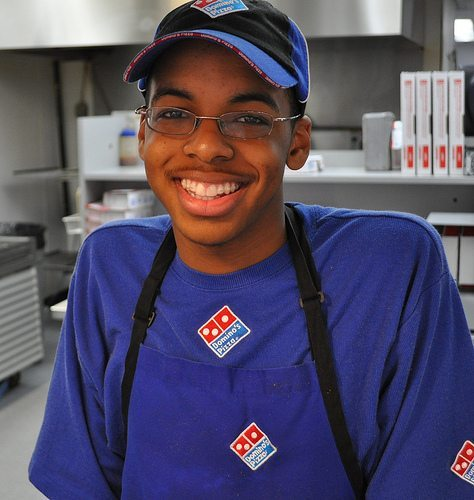 Dominos employee