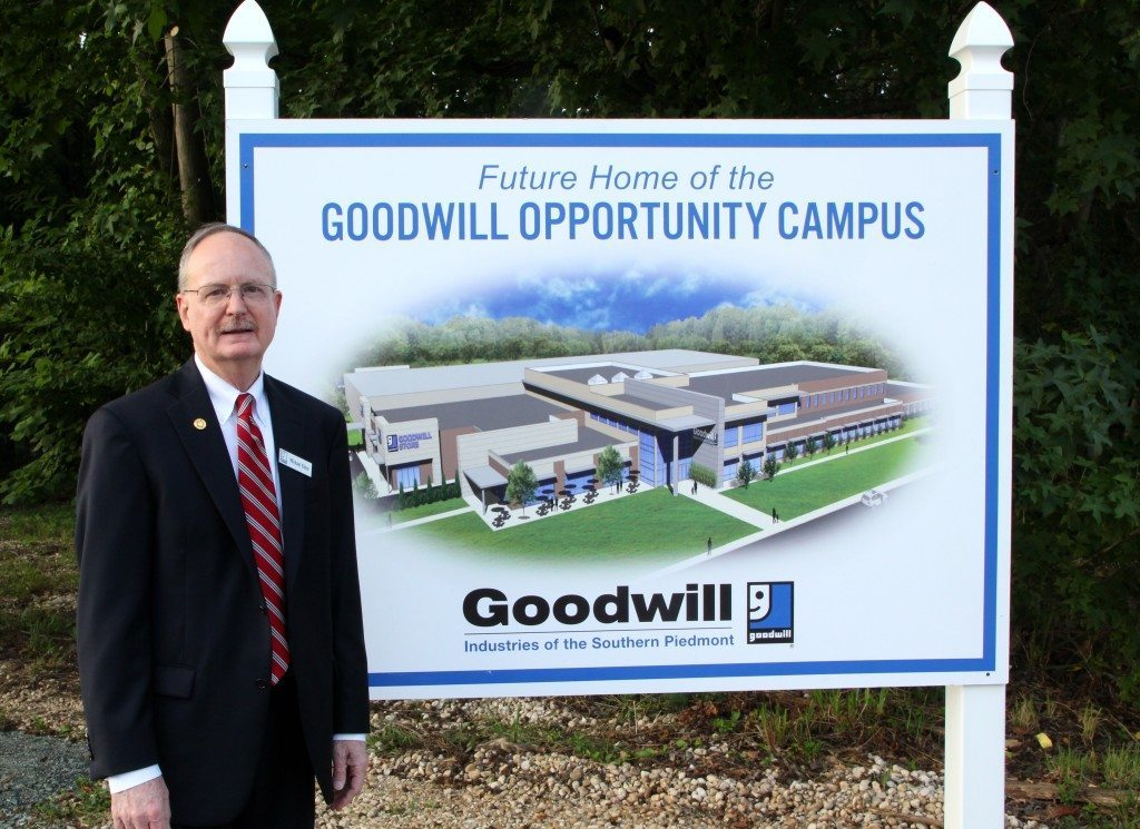 Goodwill Opportunity Campus sign