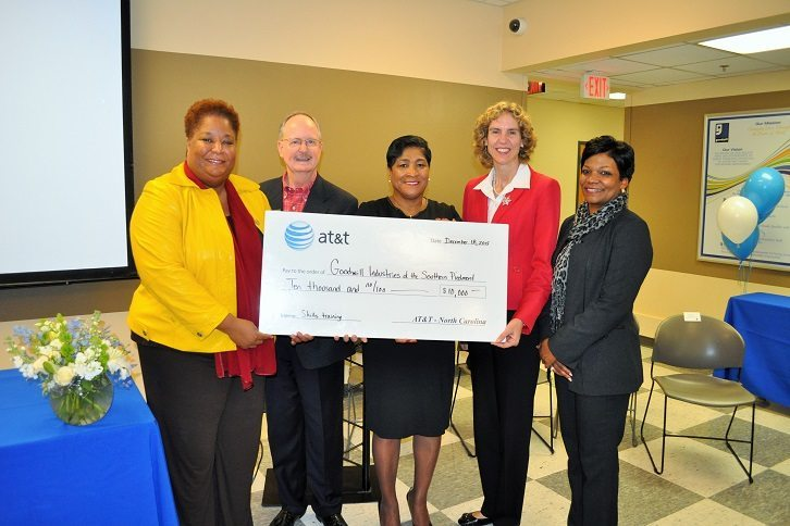 Goodwill Industries of the Southern Piedmont and ATT