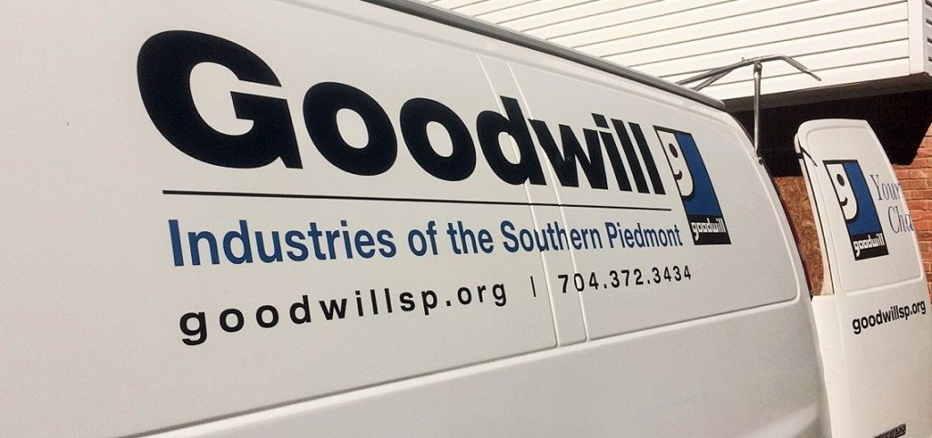 Goodwill Industries of the Southern Piedmont van