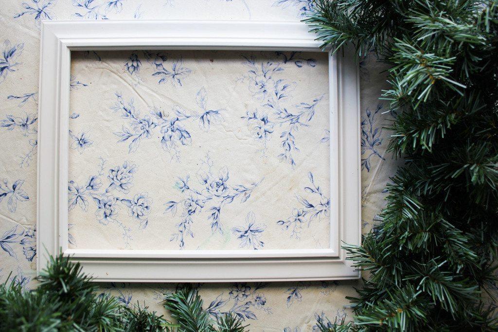 DIY Christmas door decor