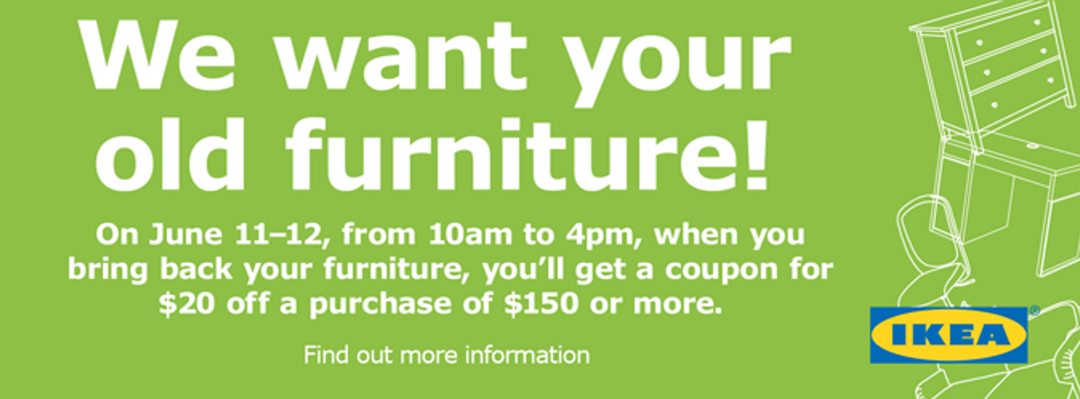 Goodwill Ikea Charlotte Partner On Furniture Take Back Donation Drive Goodwill Industries