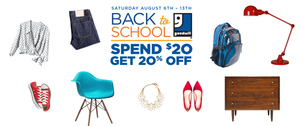 Back to School Promotion Graphic - Website Scroller