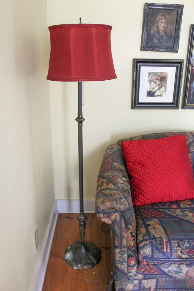 Add Flair To Your Floor Lamp Amp Shade Goodwill Southern