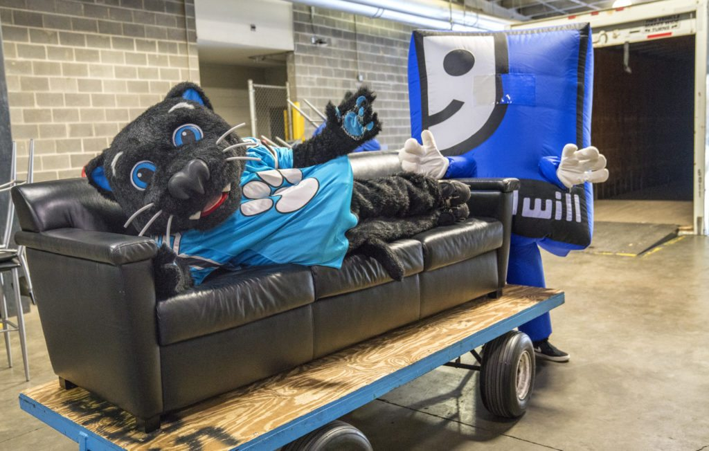 Carolina Panthers Make Large Donation Of Bank Of America Stadium