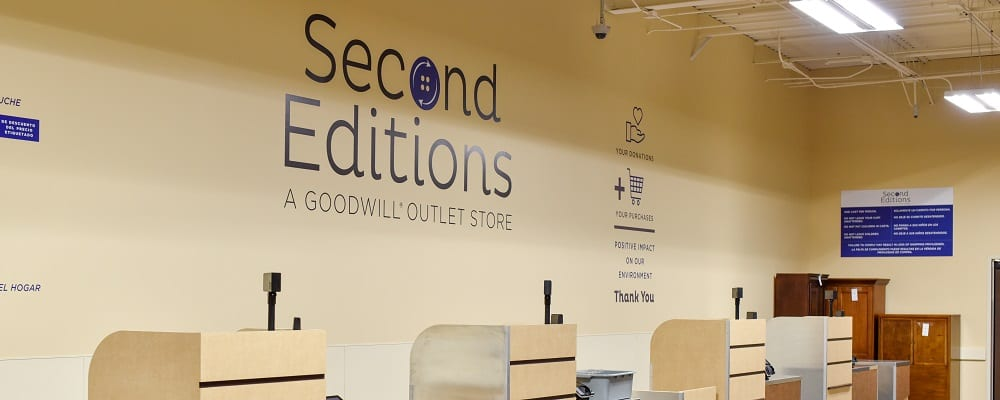 Second Editions Goodwill Discount Outlet Store Goodwill