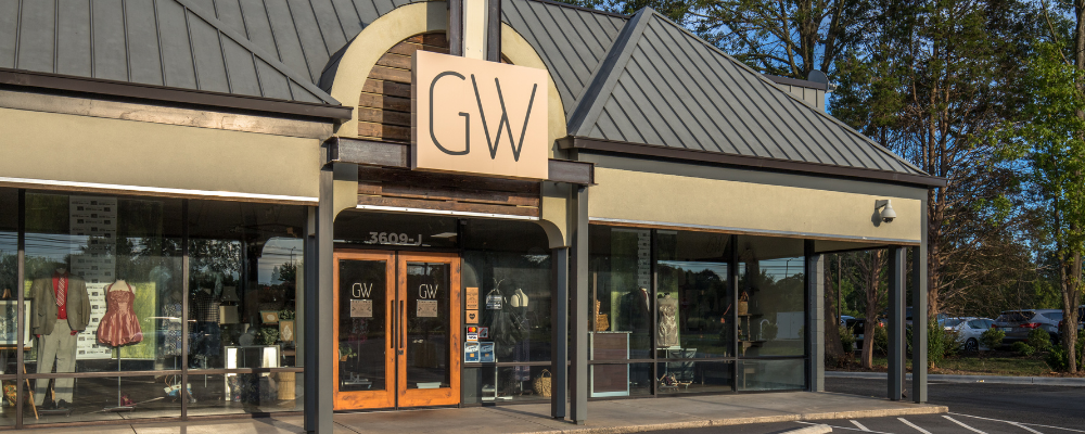 Exterior of GW Boutique in South End